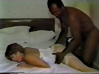 Black guy fuck white mom
