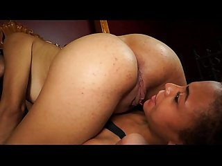 Ass licking and sucking intense lesbians