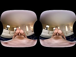 NAUGHTY AMERICA VR fucking Kendra in the couch
