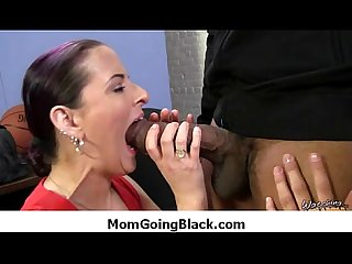 Interracial MILFs and Cougars - Mommy getting black cock 4