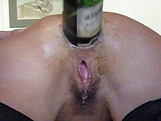anal fisting / bottle anal insertion