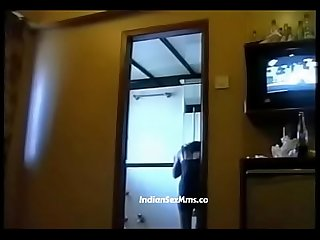 Two Desi call girls from mumbai with rich man in hotel room new