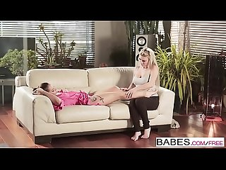 Babes step mom lessons afrodity and jenny glam working up a sweat