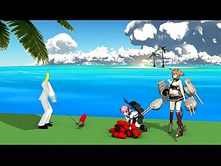 Rhythm heaven kantai collection hentai animation