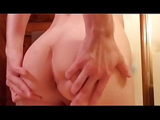 squirting out a huge load of cum from a 55 year old bear