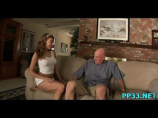 Young horny slut girl spreads her pussy