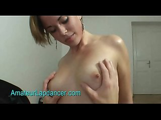 Sexy tattooed czech chick does lapdance