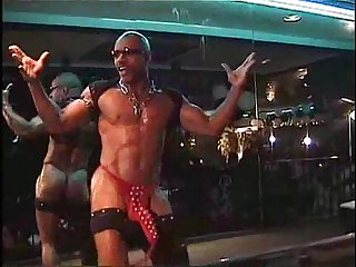 The artist from d c black male stripper