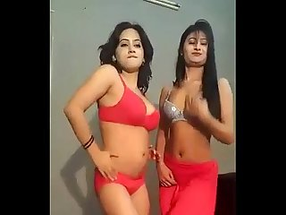 Very Host Desi Dress less Nude Mujra Dance in Private Room from Lahore.