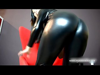 Pvc ass worship and humiliation feat astrodomina