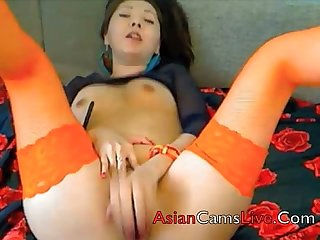Asian girls from asianwebcamgirls net sex chat shows masterbate