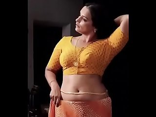 Swetha Menon Hot in Saree