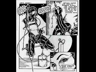 Insane deviate sexual orgy comic