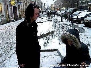 Euro teen
