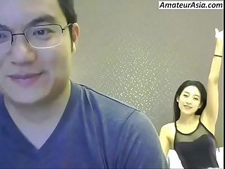 Chinese Couple Webcam fuck together you will hard free sign up at amateurasia com