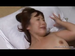 Milf riding on husband cock finishing with hand getting her pussy stimulated wit