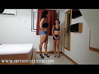 2 slave girls sucking big muscle ass and pussy