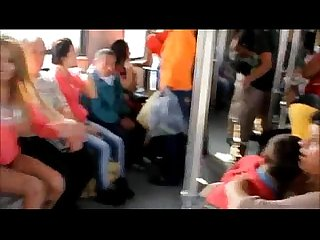 Mujer se desnuda en el metro de monterrey sol naked woman on the subway monterrey mx