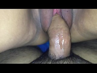 Thick Latina Milf pussy eating up my dick