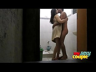 Indian amateur wife Sonia in shower sex with her husband sunny