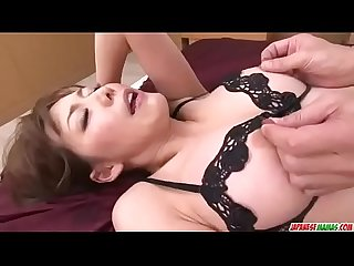 Akari asagiri asian milf in heats anal fucked on cam