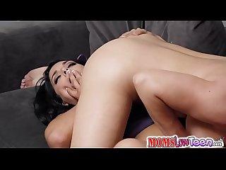 Gina Valentina pussy tribbing on top
