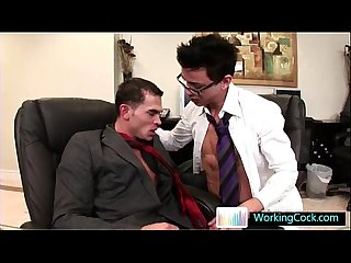 Seth having some gay porn fun with colleague by workingcock