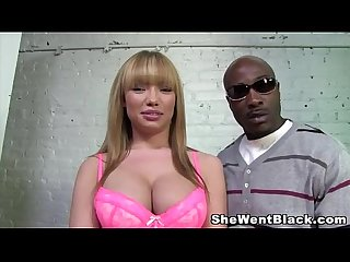 Maya Hills Gangbanged by Big Black Cocks