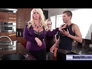 (Alura Jenson) Round Sexy Big Boobs Housewife Enjoy Hard Bang movie-01