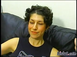 This milf was so horny