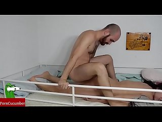Late fucked on the bunk homemade voyeur taped an amateur gf with a hiddenraf045