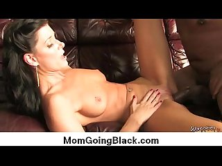 Watching my mom go black big black cock in tight wet pussy 5