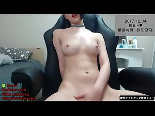 Korean camgirl creamy masturbation live at livekojas com