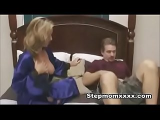 Stepmom consoles stepson after breakup
