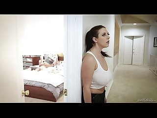 Huge titted maid fucks the virgin guy angela white tyler nixon