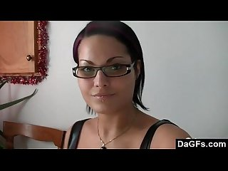 French brunette squirting while masturbating