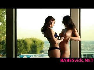 Karina white and Katie jordin Penthouse