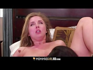 Horny Blonde Teen Step Daughter Lena Paul Orgasm Sex With Hot MILF Step Mom Kendra Lust After..