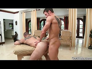 Stud gets dick sucked during massage 7 by gotrub