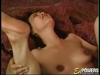 Asian babe Tina Tai spreads legs to accept cock in all holes