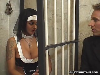 Sister victoria brown seduces priest