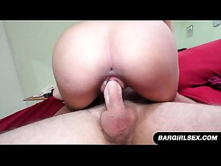 Asian rides cock and gets creamed