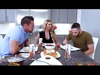 Blonde russian milf masturbate Army Boy Meets Busty Stepmom