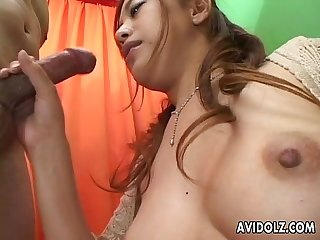 Beautiful asian babe group sex