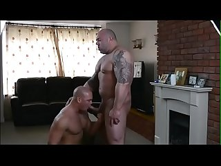 British muscle Bears fuck
