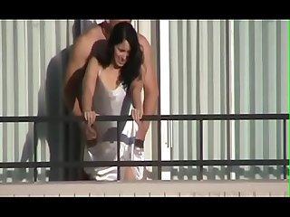 Se la culea en el balcon cuscas Net