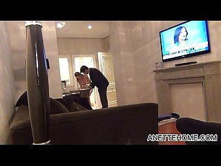 Naked roomservice at the hotel with amateur girl