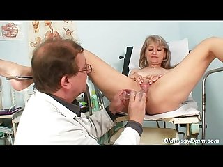 Mature alena pussy speculum gyno exam at clinic