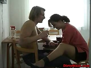 Amateur wife fuckes with neighbors boy 01