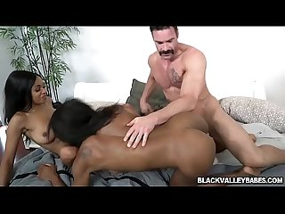 Anya Ivy And Mya Mays And The Stepdad Go At It
